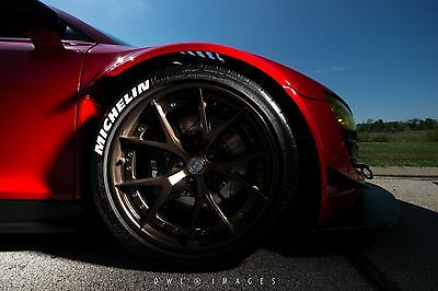 2011 Audi R8 CUSTOM ONE-OFF AUDI R8 V10 TWIN TURBO WIDEBODY BY TOPSPEED MOTORSPORTS over 900 H.P.!!