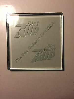 7 Up Seven Up Glass Drink Coaster