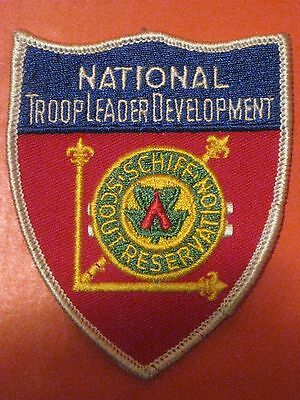 Boy Scout Schiff Scout Reservation National Troop Leader Development Patch