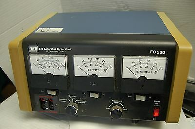 E-C Apparatus Corporation EC500 Electrophoresis Power Supply EC 500 2000v