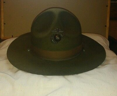 Vintage Marine Corps Drill Instructors Campaigh Hat