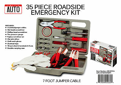 NEW Fine Life Auto Products 31pc Roadside Emergency Kit