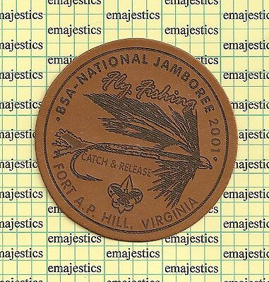 Bsa National Scout Jamboree 2001 Fly Fishing Patch