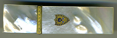 Antique Palais Royale Mother-of-Pearl Needle Case