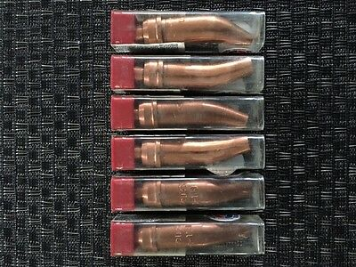 Uniweld Torch Type Cutting Tip Gouging, Acetylene, Series 1-118 size 0, 6 Pack