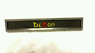 Dodge Demon door emblem