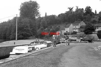 Photo  France Canal 1987 Clamecy Lock 47