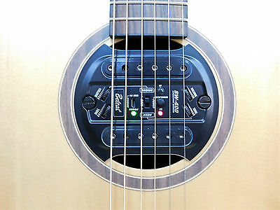 Belcat SW400 + R1 Wireless Magnetic Sound Hole Pickup System for Acoustic Guitar