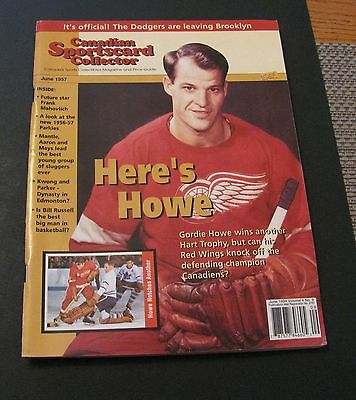 Canadian Sportscard Collector Hockey Magazine 1994 / Gordie Howe On Cover