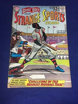 Brave And The Bold #45 Strange Sports Stories 1962-63 DC