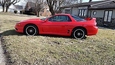 1998 Mitsubishi 3000GT NICE TAN 3000 GT  SPORTS CAR  RED  NICE  GOOD CONDITION  HOT ROD RED  3000GT  GT