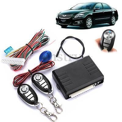 Auto Door 2 Remote Control Car Central Locking Security System Keyless Entry Kit