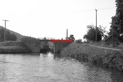 Photo  France Canal 1987 Clamecy Disused Lock 48