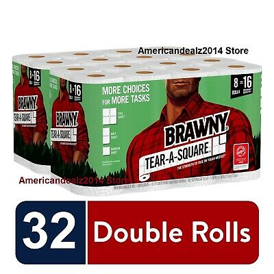 Brawny Paper Towel 16 or 48 XL Rolls Pick-A-Size - FREE EXPEDITED SHIPPING!!