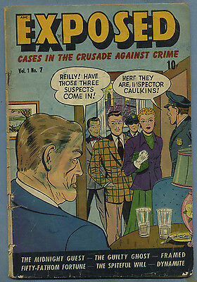 Exposed #7 1949 Crime Used by NY Legis. Commitee D.S. Publishing s