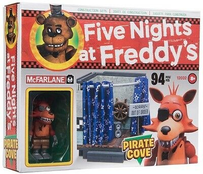 NEW  McFarlane Construction Set FNAF 5 Five Nights at Freddy's 12032 Pirate Cove
