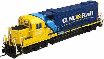 ATLAS 40002278 N Scale EMD GP38-2 Ontario Northland Road #1800 DCC Ready - NEW