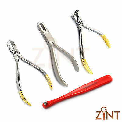 Dentist Set Of Distal End Cutter TC Orthodontic Pliers Ortho Hand Wire Cutter CE