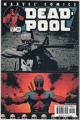 Deadpool 55 Punisher appearance NM