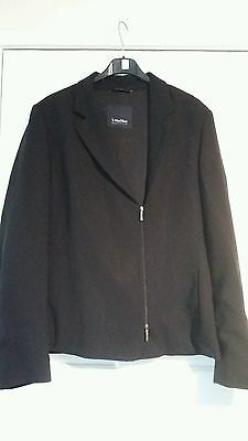 Excellent Condition S  Maxmara Black Tailored Jacket Size 16