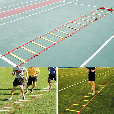 6/8/10/12 Rung 3/4/5/6M Agility Ladder for Soccer Football Speed Feet Training