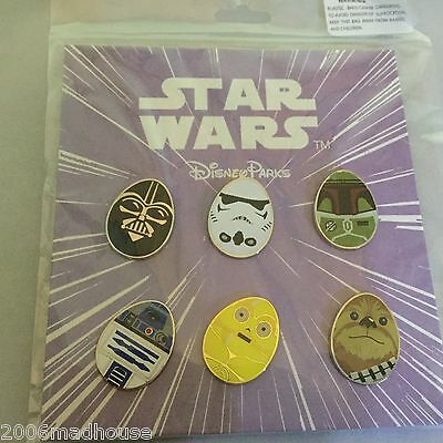 Disney Pins -Pin 113758 Star Wars Easter Egg Booster  !