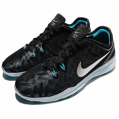 Nike W Free 5.0 TR Fit 5 MTLC Cross Training Womens Shoes Trainers 806277-002