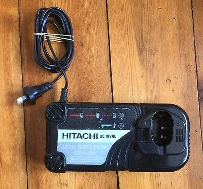 Hitachi 7.2v To 18v Charger Uc18yrl Plug In Type