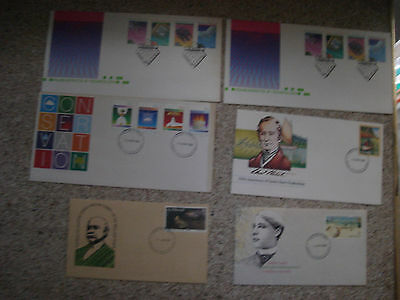 6 x Australian First Day Covers Conservation Technolodgy Charles Condor McCubbin