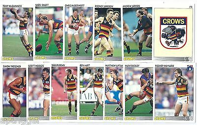 1993 Select ADELAIDE Team Set -  Excellent Condition ****