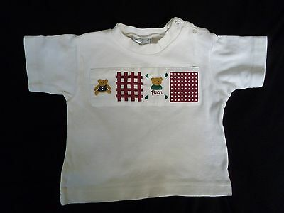 Unisex Short Sleeved T Shirt Age 12 - 18 months