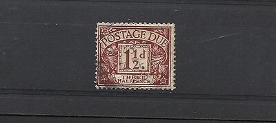 1922 Royal Cypher 1 and a Half d Postage Due Fine Used SG D3