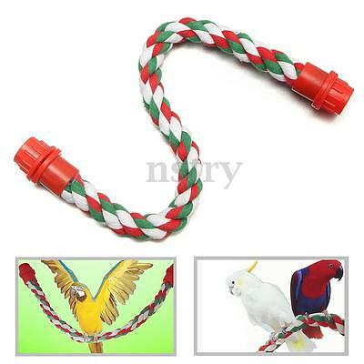 Flexible Cotton Rope Bandable For Bird Budgie Cockatiel Parakeet Finch Cage