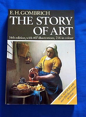The Story of Art by E H. Gombrich 14th Ed 1984, paperback NEAR NEW condition