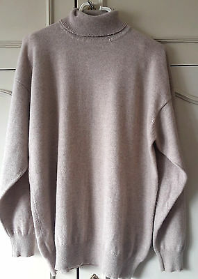 Pull beige cachemire , taille L, CASHMERE