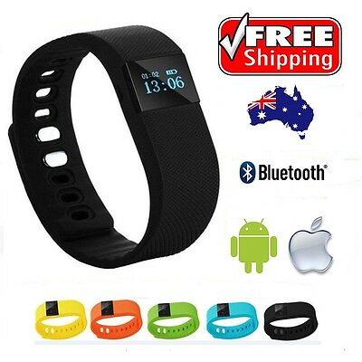 Very Fit Tw64 Smart Fitness Tracker Watch Wristband Fitbit Style Iphone Android