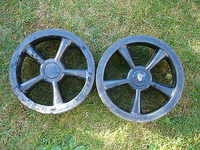 electric golf  trolley wheels (pair)
