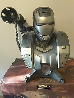 WAR MACHINE 1:1 Scale Life Size Bust by Sideshow Collectibles **LIGHTS UP**
