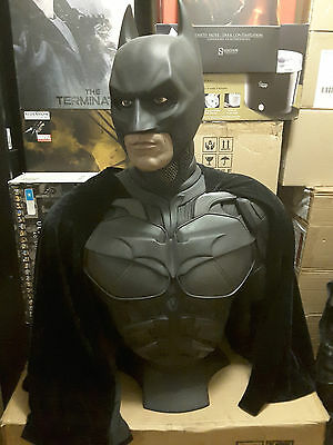 BATMAN The Dark Knight 1:1 Scale Life Size Bust HCG Sideshow (149 of 750) RARE!!