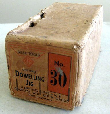 Silex Tools Dowling Jig No. 30 + Original Box (Vintage Woodworking) Made in Aus