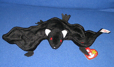 TY RADAR the BAT BEANIE BABY - MINT with CREASED TAG - SEE PICS  #2