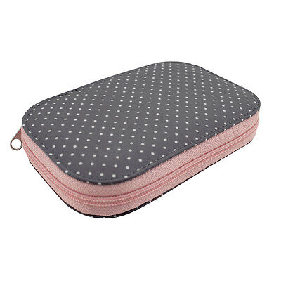 Everything Mary Zip Around Sewing Kit | Grey Spot | 17 x 10 x 2cm | EVM10644-1