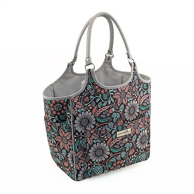 Everything Mary Deluxe Yarn Tote | Floral | 33cm x 26cm x 36cm | EVM10239-2