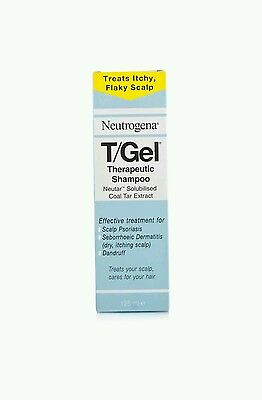 Neutrogena T/Gel Therapeutic Shampoo Psoriasis Itching Scalp and Dandruff 125ml