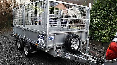 Ifor Williams Trailer Lm105 - Year 2016 With Mesh Sides -  No Vat
