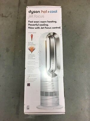 Dyson AM09 Hot + Cool  Jet Focus White Silver NEW SEALED