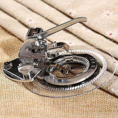 "2.76""Dia. Round Flower Stitch Embroidery Presser Foot for Brother Sewing Machine"