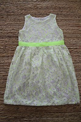 SEED Girls Dress - Size 3-4 Lace - as new!