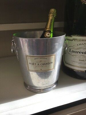 Vintage French Moet & Chandon Champagne Ice Bucket Cooler
