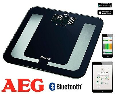 Bascula De Baño Aeg Pw-5653 Bt Con Bluetooth 150Kg Android Ios Movil Tablet .